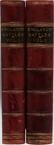Books:World History, Lieut. Colonel Williams. England's Battles by Sea and Land. Vol. I & II. London Printing and Publishing, [n. d.]... (Total: 2 Items)