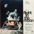 Autographs:Celebrities, Wally Schirra: Signed Apollo 11 Flight to the Moon Record Album (Bell Records #1100, 1969) Directly from the Perso...