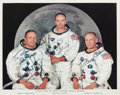 Autographs:Celebrities, Apollo 11 Crew-Signed Color Photo.... (Total: 2 Items)