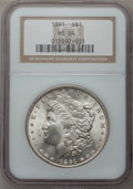 Morgan Dollars: , 1891 $1 MS64 NGC. NGC Census: (1150/127). PCGS Population(1684/117). Mintage: 8,694,206. Numismedia Wsl. Price forproblem...