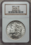 Morgan Dollars: , 1889-O $1 MS64 NGC. NGC Census: (956/56). PCGS Population(1448/152). Mintage: 11,875,000. Numismedia Wsl. Price forproble...