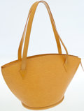 Luxury Accessories:Bags, Louis Vuitton Yellow Epi Leather St Jacques GM Tote Bag. ...