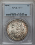 Morgan Dollars: , 1898-O $1 MS66 PCGS. PCGS Population (1840/152). NGC Census:(1855/176). Mintage: 4,440,000. Numismedia Wsl. Price for prob...