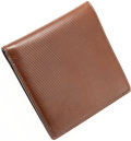 Luxury Accessories:Accessories, Tom Ford Brown Leather Bi-Fold Wallet. ...