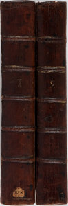 Books:Science & Technology, R. Brookes. The General Practice of Physic. Vol. I&II. Carnan and Newberry, 1771. Sixth edition. Contemporary sp... (Total: 2 Items)