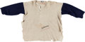 Autographs:Bats, 1946-48 Ted Williams Game Worn & Signed Boston Red Sox Undershirt....