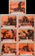 "Movie Posters:Science Fiction, Gigantis the Fire Monster (Warner Brothers, 1959). Lobby Cards (7)(11"" X 14""). Science Fiction.. ... (Total: 7 Items)"
