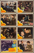 "Movie Posters:Crime, London Blackout Murders (Republic, 1943). Lobby Card Set of 8 (11""X 14""). Crime.. ... (Total: 8 Items)"