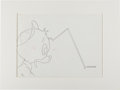 Animation Art:Production Drawing, Duck Tales Huey Production Drawing Animation Art (Disney, c.1987)....