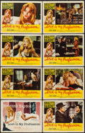 "Movie Posters:Sexploitation, Love is My Profession (Kingsley International, 1959). Lobby CardSet of 8 (11"" X 14""). Sexploitation.. ... (Total: 8 Items)"