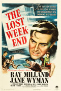 "Movie Posters:Academy Award Winners, The Lost Weekend (Paramount, 1945). One Sheet (27"" X 41"").. ..."