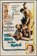 """Movie Posters:Crime, The Man in the Road (Republic, 1957). One Sheet (27"""" X 41""""). Crime.. ..."""