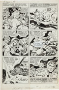Original Comic Art:Panel Pages, Jack Kirby and Joe Simon The Double Life of Private Strong#1 Page 32 Original Art (Harvey, 1959)....