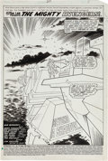 Original Comic Art:Splash Pages, Gene Colan and Dan Green Avengers #207 Page 1 Original Art(Marvel, 1981)....
