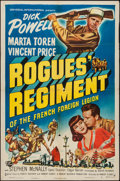 "Movie Posters:Adventure, Rogues' Regiment (Universal International, 1948). One Sheet (27"" X41""). Adventure.. ..."