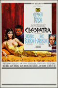 "Movie Posters:Historical Drama, Cleopatra (20th Century Fox, 1963). Spanish One Sheet (27"" X 41"")Todd-AO Road Show Style. Flat Folded. Historical Drama...."