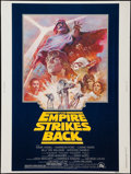 "Movie Posters:Science Fiction, The Empire Strikes Back (20th Century Fox, R-1981). Poster (30"" X40""). Science Fiction.. ..."