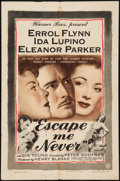 """Movie Posters:Drama, Escape Me Never (Warner Brothers, 1948). One Sheet (27"""" X 41""""). Drama.. ..."""