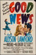 "Movie Posters:Musical, Good News (MGM, 1947). One Sheet (27"" X 41""). Musical.. ..."