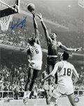 Basketball Collectibles:Photos, Bill Russell Signed Oversized Photograph - PSA Gem Mint 10. ...