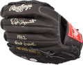 "Baseball Collectibles:Others, Robin Yount ""1982 Gold Glove"" Signed Glove. ..."
