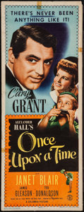"""Movie Posters:Comedy, Once Upon a Time (Columbia, 1944). Insert (14"""" X 36""""). Comedy.. ..."""