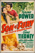 "Movie Posters:Adventure, Son of Fury (20th Century Fox, 1942). One Sheet (27"" X 41"").Adventure.. ..."