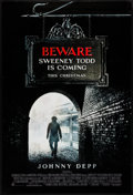 "Movie Posters:Musical, Sweeney Todd: The Demon Barber of Fleet Street (Warner Brothers, 2007). One Sheet (27"" X 40"") DS Advance. Musical.. ..."