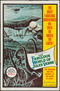 """Movie Posters:Fantasy, The Fabulous World of Jules Verne (Warner Brothers, 1961). OneSheet (27"""" X 41""""). Fantasy.. ..."""