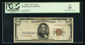 Error Notes:Inking Errors, Fr. 1850-F $5 1929 Federal Reserve Bank Note. PCGS Fine 15.. ...