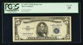 Small Size:Silver Certificates, Fr. 1657* $5 1953B Silver Certificate. PCGS Very Fine 25.. ...
