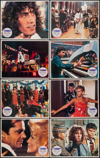 """Tommy (Columbia, 1975). Lobby Card Set of 8 (11"""" X 14""""). Rock and Roll. ... (Total: 8 Items)"""