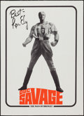 """Movie Posters:Adventure, Doc Savage: The Man of Bronze! (Warner Brothers, 1975). PromotionalPoster (20"""" X 27""""). Adventure.. ..."""