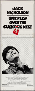 "Movie Posters:Academy Award Winners, One Flew Over the Cuckoo's Nest (United Artists, 1975). Insert (14""X 36""). Academy Award Winners.. ..."