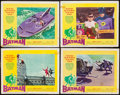"""Movie Posters:Action, Batman (20th Century Fox, 1966). Lobby Cards (4) (11"""" X 14"""").Action.. ... (Total: 4 Items)"""