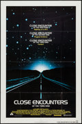 "Movie Posters:Science Fiction, Close Encounters of the Third Kind (Columbia, 1977). One Sheet (27""X 41""). Science Fiction.. ..."