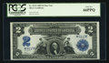 Large Size:Silver Certificates, Fr. 252* $2 1899 Silver Certificate PCGS Gem New 66PPQ.. ...