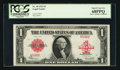 Large Size:Legal Tender Notes, Fr. 40 $1 1923 Legal Tender PCGS Superb Gem New 68PPQ.. ...