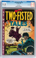 Golden Age (1938-1955):War, Two-Fisted Tales #21 Gaines File pedigree 2/10 (EC, 1951) CGC NM/MT 9.8 White pages....