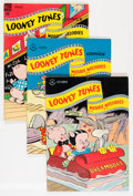 Golden Age (1938-1955):Cartoon Character, Looney Tunes and Merrie Melodies Comics Group (Dell, 1947-51)Condition: Average VG+.... (Total: 16 Comic Books)