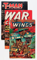 Golden Age (1938-1955):War, Comic Books - Assorted Golden and Silver Age War Comics Group(Various Publishers, 1950s-'60s) Condition: Average GD/VG....(Total: 21 Comic Books)