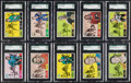 Hockey Cards:Lots, 1968 Topps Hockey High Grade NM to NM/MT Collection (22). ...