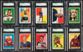 Hockey Cards:Lots, 1958 - 1960 Topps Hockey SGC-Graded Collection (25). ...