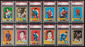 Hockey Cards:Lots, 1972 Topps Hockey Collection (28) - All Graded PSA Mint 9! ...