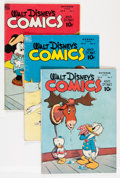 Golden Age (1938-1955):Cartoon Character, Walt Disney's Comics and Stories Group (Dell, 1947-57) Condition: Average VG+.... (Total: 27 Comic Books)