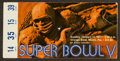 Football Collectibles:Tickets, 1971 Super Bowl V Multi Signed Ticket Stub - Baltimore Colts Signatures....