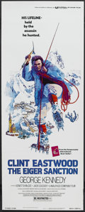 "Movie Posters:Action, The Eiger Sanction (Universal, 1973). Insert (14"" X 36""). Action.Directed by Clint Eastwood. Starring Eastwood, George Kenn..."