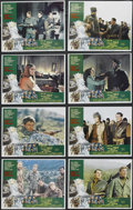 """Movie Posters:War, Force 10 from Navarone (American International, 1978). Lobby Card Set of 8 (11"""" X 14""""). War Action. Starring Robert Shaw, Ha... (Total: 8 Items)"""