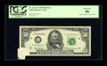 Error Notes:Attached Tabs, Fr. 2114-L $50 1969 Federal Reserve Note. PCGS About New 50.. ...