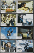 "Movie Posters:Action, The Hunter (Paramount, 1980). Lobby Card Set of 8 (11"" X 14"").Action. Starring Steve McQueen, Eli Wallach, Kathryn Harrold,...(Total: 8 Items)"